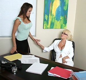 Lesbian Boss Porn Pictures